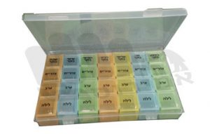 קופסא לחלוקת תרופות
