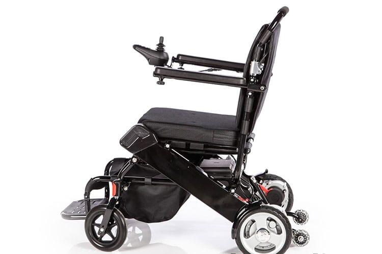 כסא גלגלים חשמלי מתקפל